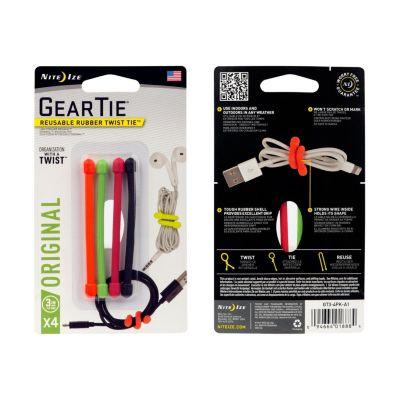 Sujetador para Cable Reutilizable 8cm Surtido - 4und