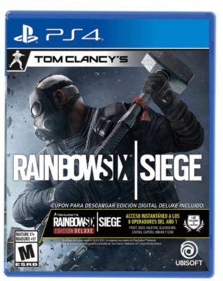 Tom Clancys Rainbow Six Siege Edición Deluxe PlayStation 4