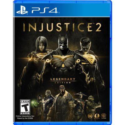 Injustice 2 Legendary Edition PlayStation 4