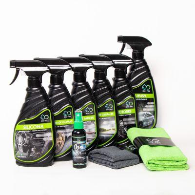 Súper Kit de Limpieza de Autos