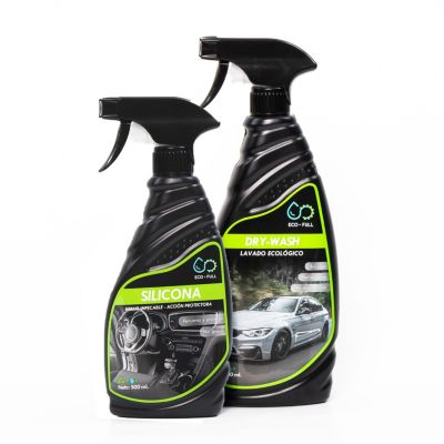 Dúo Dry-Wash 750ml+ Silicona Interior 500ml