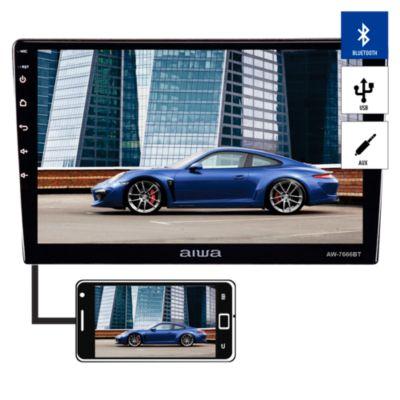 "Autoradio Pantalla Tactil 10.6"" HD Bluetooth/USB/AUX AW-W7666BT"