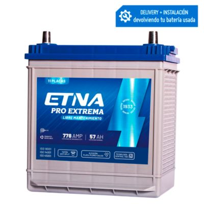Batería  para Auto 11 Placas 57Ah HL-11 PRO Extrema