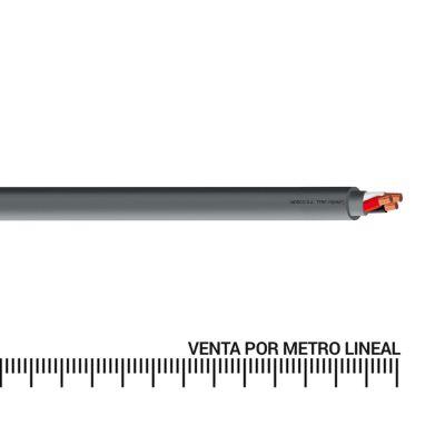 Cable vulcanizado 12 AWG x metro lineal