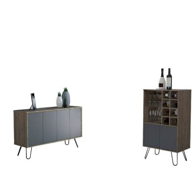 Bar Bajo + Bife Vassel Miel/Plomo