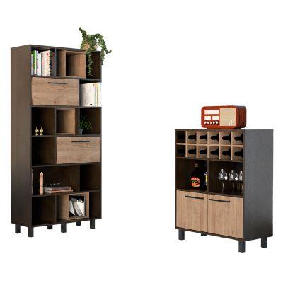 Biblioteca + Bar Kaia Wengue/Miel