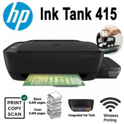 Impresora Multifuncional Ink Tank 415 Wireless Sistema Continuo