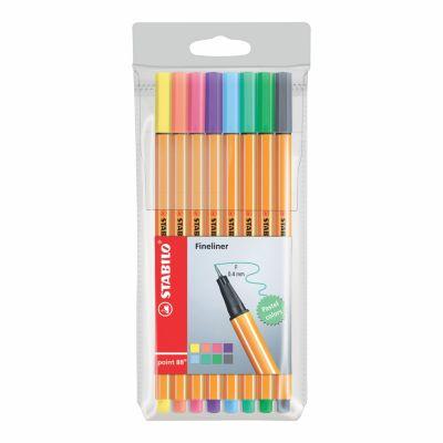 Fine Pen Point88 x8 Pastel