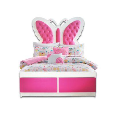 Juego de Dormitorio Mariposa 1.5 Plazas