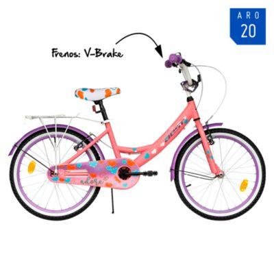 Bicicleta Adore Aro 20'' Rosado