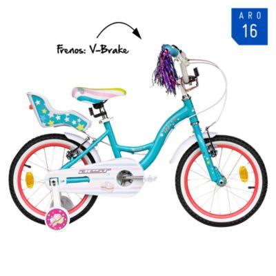 Bicicleta Dolce Aro 16'' Jade