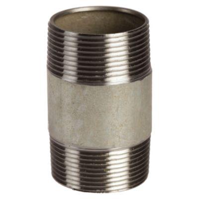 """Niple de fierro galvanizado 1 1/2x3"""""""