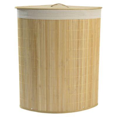 Cesto de Ropa Bambú Natural