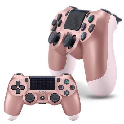 Mando PS4 Dualshock Rose Gold