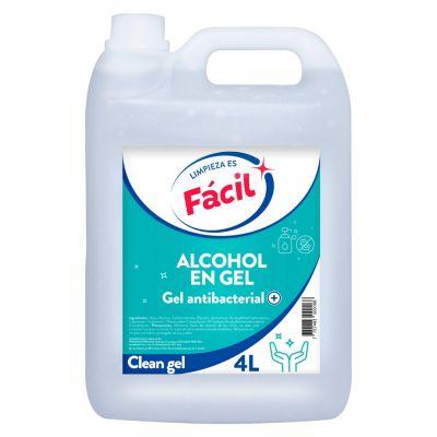 Alcohol Gel Fácil 4 L