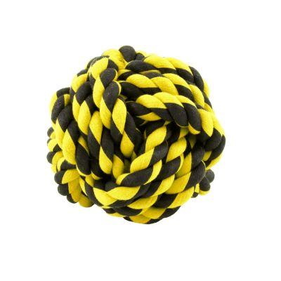 Juguete Nudo de Soga Small 6.5 cm  Amarillo