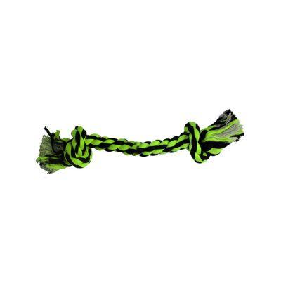 Juguete Hueso de Soga 23 cm  Verde
