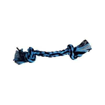 Juguete Hueso de Soga 23 cm  Azul