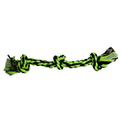 Juguete Hueso de Soga 38 cm  Verde