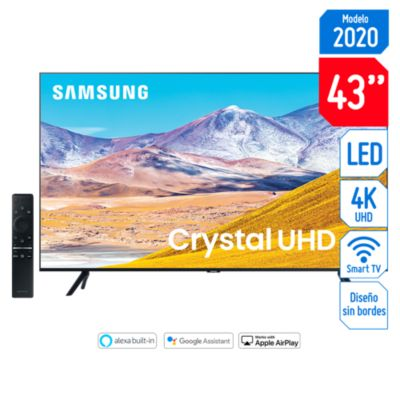 Televisor Smart 4K UHD 43'' UN43TU8000GXPE