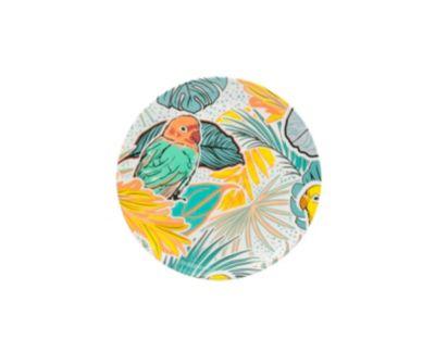 Plato Redondo Tropical 20cm