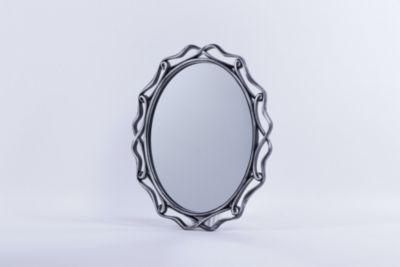 Espejo Oscar Plateado 75x60cm