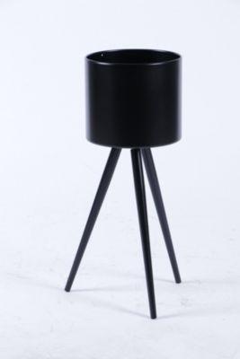 Macetero Circular Negro L