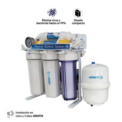 Equipo Purificador de Agua Ósmosis Inversa 100 GPD