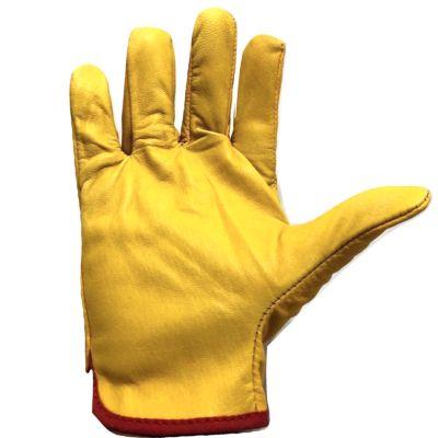 Guantes de Cuero Industriales Amarillo Anta