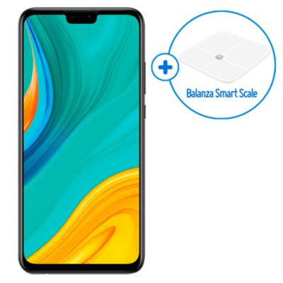 Huawei Y8 S 6.5'' 64GB 4GB Negro + Balanza Smart Scale