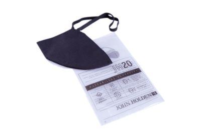 Mascarilla de tela lavable Negro x10