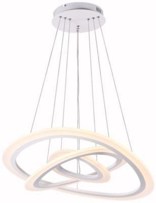 Lámpara Colgante Led Jade x 3 68W Luz amarilla