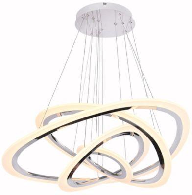 Lámpara Colgante Led Jade Quattro 115W Luz amarilla