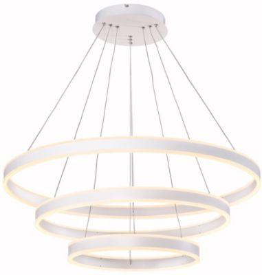 Lámpara Colgante Lia Tripla 1 Luz Led Luz Amarilla