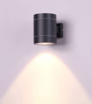 Aplique Led Verona 6W Luz amarilla IP54