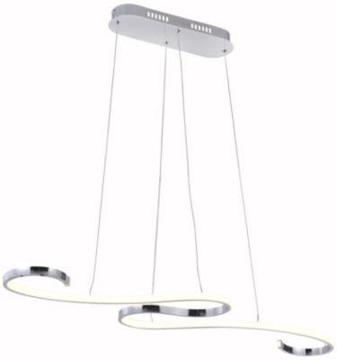 Lámpara Colgante Draco 1 Luz Led Luz Amarilla