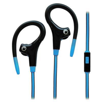 Audífonos Sport con Microfono Azul