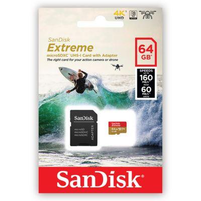 Tarjeta Micro Sdxc Extreme 64GB