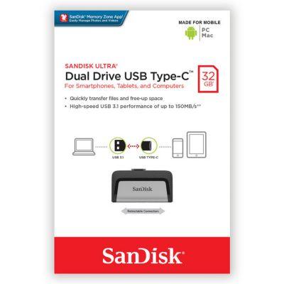 Dual Drive USB Type-C 32GB