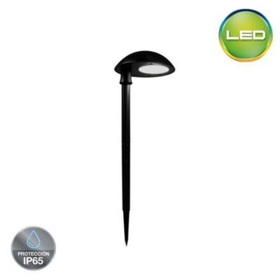 Estaca LED para Jardín Negro 4.5w Luz Cálida