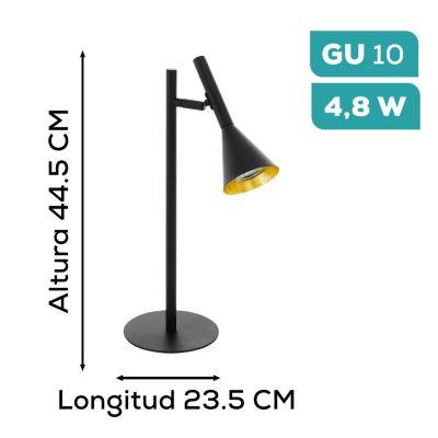 Lámpara de Mesa Cortaderas