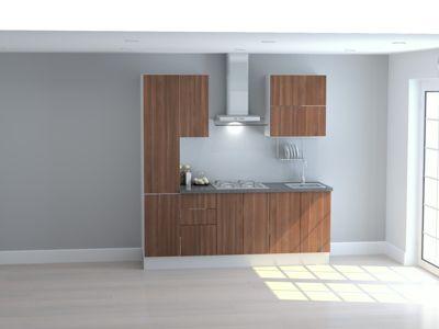 Mueble de Cocina Modular Maderada 210 Cm Gales