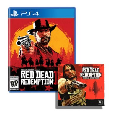 Videojuego PS4 Red Dead Redemption 2 + Sound Track