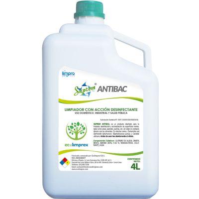 Limpiador Desinfectante Concentrado con Aroma
