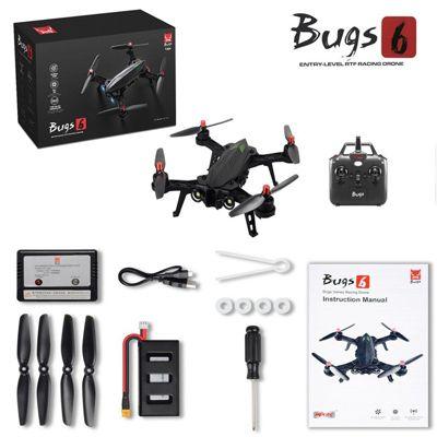 Drone Goolsky MJX Bugs 6 B6 720P Cámara 5.8