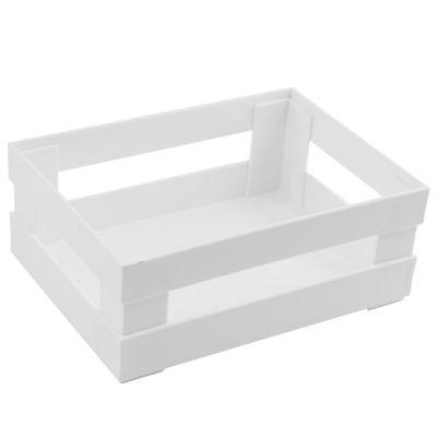 Canasto Blanco 22.5x30.5x11.5cm