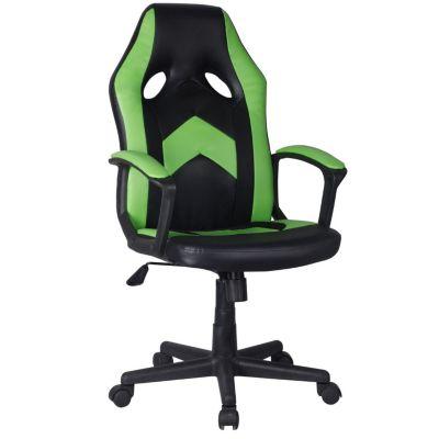 Silla Gamer Verde/Negro