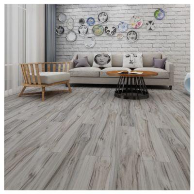 Piso Vinilico LVT White Oak 15.2x91.4cm