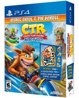 Videojuego PS4 Crash Team Racing Nitro Oxide + Pin Bundle
