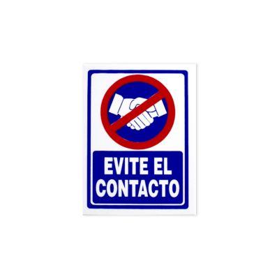 Señal de Seguridad Evite El Contacto
